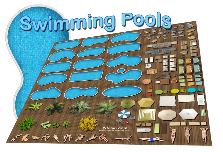 Swimming pool design software - Super Landscaping plan software