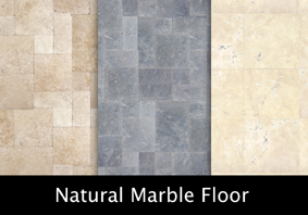 Natural marble floor texture